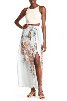 Bri Bri Butterfly Maxi Skirt by Free People on @nordstrom_rack