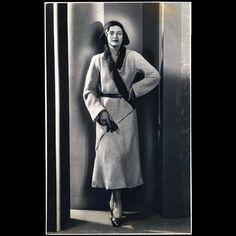 Vionnet - Manteau de tweed pour 1930