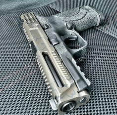 M&P Custom, pistol, guns, weapons, self defense, protection, 2nd amendment, America, firearms, munitions #guns #weapons