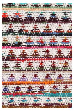 Right Angles Handwoven Rug