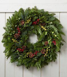 Woodland Berry Wreath