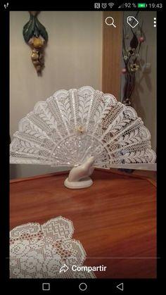 Hand Fan, Victorian, Pattern, Crochet Art, Storage, Tricot, Patterns, Model, Swatch
