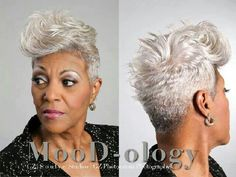 Silver Fox--- Gone Mama! I wanna be FLY LIKE HER when I get to be her age! #Respect :)