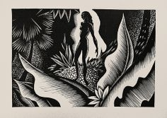 """Lynd Ward - Wood Engraving for Alec Waugh's """"Most Women..."""" (1931)"""