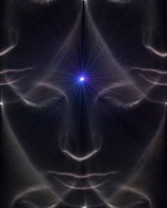 The third eye is a mystical concept referring to an invisible eye that provides perception beyond ordinary sight. It is located between, & just above, the eyebrows, & acts like a gate that leads to inner realms & higher consciousness. Its vibrational frequency is related to insight & intuition. Its associated color is indigo, & its element is light.