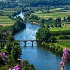 Dordogne river , France