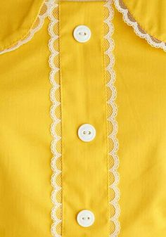 yellow and lace Dandelion Hearted Dress My Favorite Color, My Favorite Things, Yellow Submarine, Lemon Yellow, Shades Of Yellow, Happy Colors, Mellow Yellow, Color Inspiration, Cute Outfits