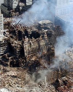 9/17/2001 - Aftermath of the WTC attack