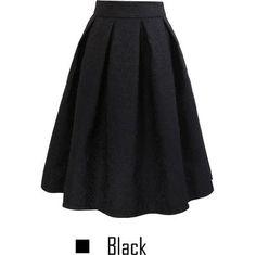 Vintage Women Skirt New Fashion 2016 Autumn Winter Vintage Casual Pleated Knee-length Midi Skirt Skater Women's Skirt Gender: Women Decoration: Sashes Waistline: Empire Pattern Type: Solid Style: Fash