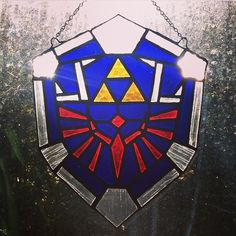 Hylian Shield Stained Glass - Imgur