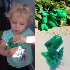 Yeah so #3dprinting and kids go well together. #brynnsienna thinks #Boon3D is pretty awesome nice design @3dkitbash! by weir.dano