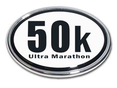 Elektroplate 50K Ultra Marathon Chrome Auto Emblem