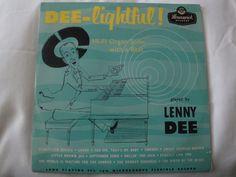 LENNY DEE, DEE-LIGHTFUL VINYL LP BRUNSWICK LAT 8072, MONO, MADE IN ENGLAND EX #BigBandSwingJazzInstrumentJazzPopORGAN