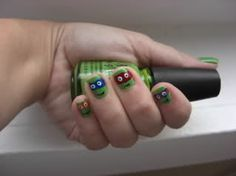 Sweet Shoppe Designs – The Sweetest Digital Scrapbooking Site on the Web » 365 Days of Bliss – Pretty Nail Art ninja turtles