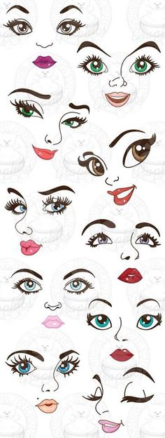 modelos de olhos para artesanato, moldes de olhos, handmade, artesanato, @temarteemtudo