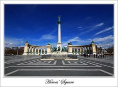 Hungary - Budapest - Heroes' Square