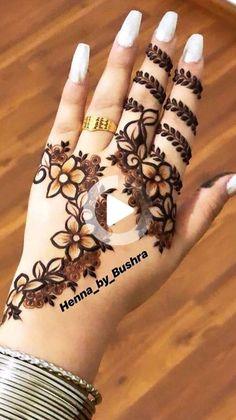 for more interesting pins Henna Tattoo Designs, Mehandi Designs, Mehndi Designs Finger, Henna Tattoo Hand, Mehndi Designs 2018, Mehndi Designs For Girls, Mehndi Design Photos, Mehndi Designs For Fingers, Simple Henna Tattoo