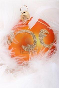 Orange Christmas Tree Ball #myHOFwishlist