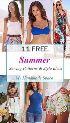 11 FREE Summer Sewing Patterns