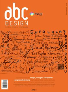 Capa da edição 50 da Revista abcDesign
