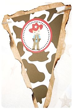 Rootin Tootin Western Party Banner by monkeymoomoo on Etsy, $37.50