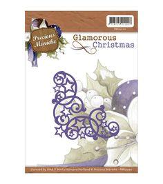 Precious Marieke Glamorous Christmas Die-Night Sky Corner
