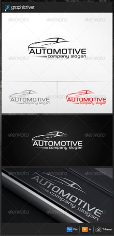 Automotive Logo Templates #GraphicRiver -100% vector -AI,EPS files -Resizable easy to edit the text and slogan Full Instruction and Font Name/Link are provided in README file Cheers….! Created: 12June13 GraphicsFilesIncluded: VectorEPS #AIIllustrator Layered: No MinimumAdobeCSVersion: CS Resolution: Resizable Tags: auto #autorentals #automotivelogo #car #dealer #luxury #modern #repair #service #simple #speed #sport #sportcar #vector