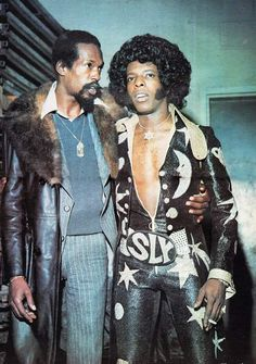 Eddie Kendricks and Sly Stone