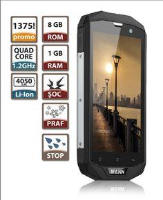 """Oferta Telefon Mobil 4G LTE Mann 5 S 5"""" 1GB/8GB Quad Core Military - STOC LIMITAT"""