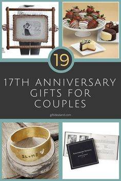 15 Best 17th Wedding Anniversary Gift Images 17th Wedding