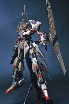 GUNDAM GUY: MG 1/100 Hyaku Shiki - Customized Build