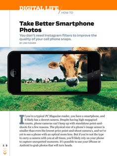 Learn how to take better photos with your smartphone and more in the June issue of PC Magazine.