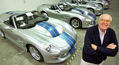 Carroll Shelby, famed for fast living and faster cars, dies at 89