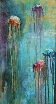 Jellyfish Acrylic on Canvas