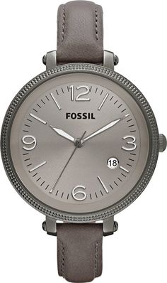 #Fossil #Watch , FOSSIL Heather Leather Watch - Grey ES3134