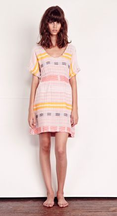ace&jig spring14 crayon picnic dress