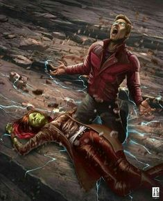 Guardians of the Galaxy #Starlord #Gamora
