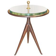 Elegant Italian Late 1940s, Early 1950s Side Table | 1stdibs.com