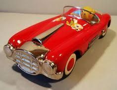 Image result for vintage tin cars 50s