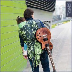 Fidella Tragetuch -Rock n Rolla -green splash-, 29,90 EUR, Fidella® T