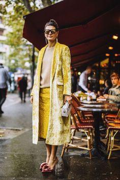 Ideas Fashion Week Paris Street Style Giovanna Battaglia For 2019 Fashion Mode, Look Fashion, Fashion Outfits, Fashion Trends, Fashion Weeks, Fashion Glamour, Fashion Editor, Funky Fashion, Womens Fashion