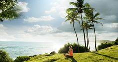 Relax yoga, advertising photo. For Kahanda Kanda.