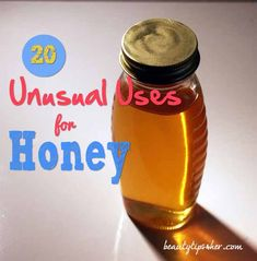 20 Unusual Uses for Honey - There is More Than Meets the Eye About Honey - Natural Beauty Skin Care Beauty Care, Diy Beauty, Beauty Skin, Health And Beauty, Honey Uses, Homemade Beauty Recipes, Natural Deodorant, Diy Skin Care, Body Care