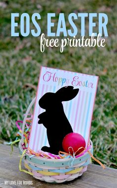 Gift tags peeps easter gift tags free printable ideas from eos easter gift free printable negle Choice Image