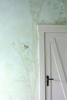 Kinderzimmer wald malerei wallpainting atelier Wandlungen Source by The post Kinderzimmer wald maler Forest Nursery, Forest Painting, Furniture Restoration, Wall Murals, Sweet Home, Wall Decor, Interior Design, Wallpaper, Home Decor