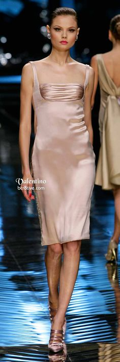Valentino Silky Cocktail Dress