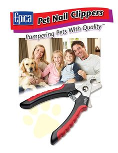 TRIM YOUR PET'S NAILS SAFELY: It's easy to make a precise, safe cut with our semi-circular blades. Your pet's nail rests in the semi-circle - you see precisely where you're cutting - no guessing. Large Dogs, Small Dogs, Dog Nail Clippers, Dog Nails, Dog Safety, Dog Park, New Puppy, Dog Owners, Best Dogs
