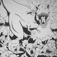 Beasties are no match for #LilithDark! #art