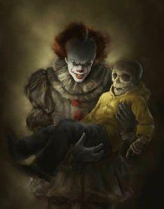 Risultati immagini per shigeru onda a peur des femmes Clown Horror, Horror Monsters, Arte Horror, Halloween Horror, Horror Art, Le Clown, Clown Faces, Creepy Clown, Terror Movies