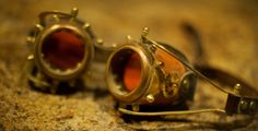 My #steampunk #goggles that came in handy when the #desert storms ripped through the landscape. #BurningMan. from #treyratcliff at http://www.StuckInCustoms.com - all images Creative Commons Noncommercial